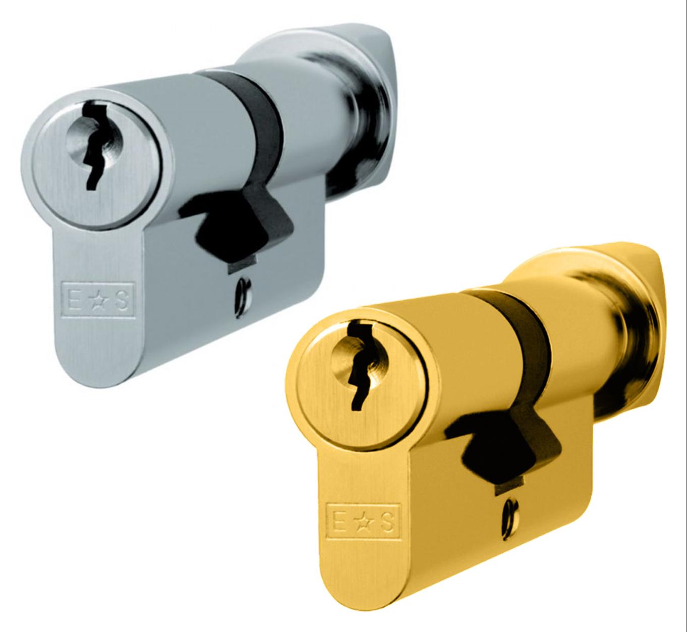 EuroSpec CYH71370SC 70mm MP5 Euro Double Cylinder Lock Satin Chrome