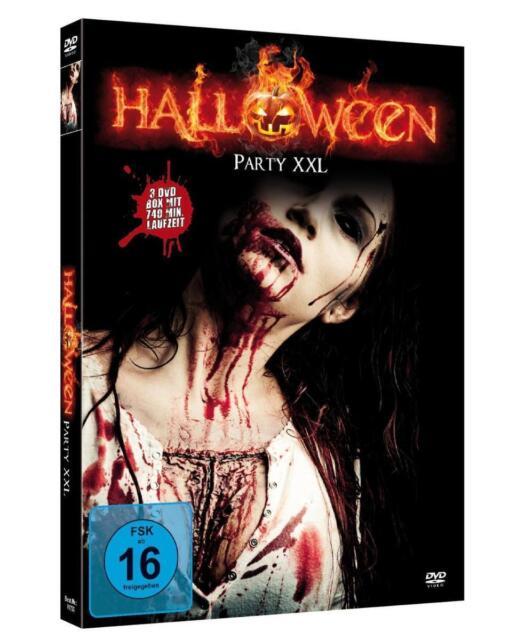 Halloween Party XXL  [3 DVDs] (2010)DVD-Horrorthriller mit 9 Filmen,Erika Fay
