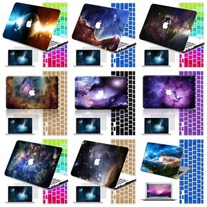 3D-Galaxy-Rubberized-Matte-Case-Hard-Cover-KB-SP-For-Macbook-Pro-Air-11-12-13-15