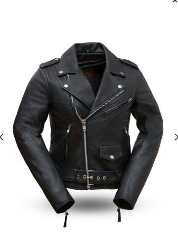 Rock Fil182chmz Woman's Star Leather Jacket aPTqS