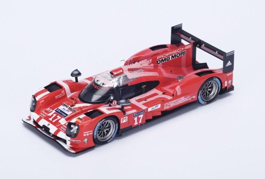 Porsche 919  17 Bernhard-Webber-Hartley  2nd Le Mans  2015  Spark 1:43 / S4638