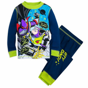 35589552d Disney Store Toy Story Woody Buzz Lightyear Long Sleeve Pajama Set ...