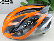 Hot  giro helmet bicycle road live strong unisex fit 56-62cm orange