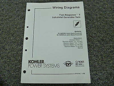 Electrical Wiring Diagram Manual, Kohler Generator Wiring Diagram