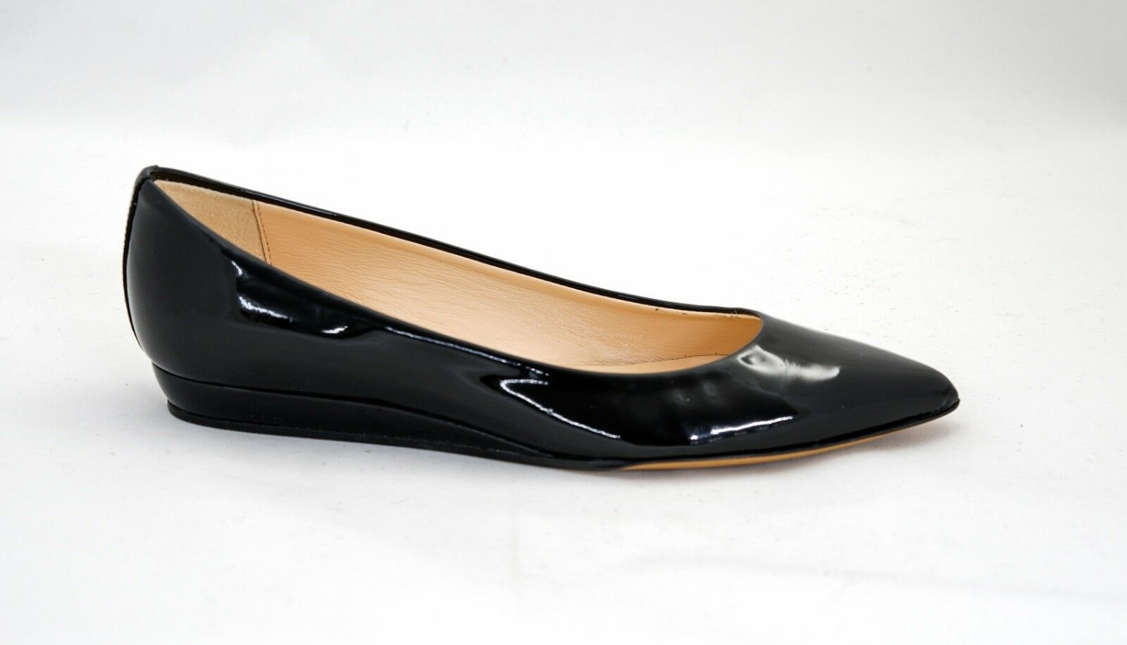 Fabio Rusconi 1719 Black Patent Flat Shoe - New in Box