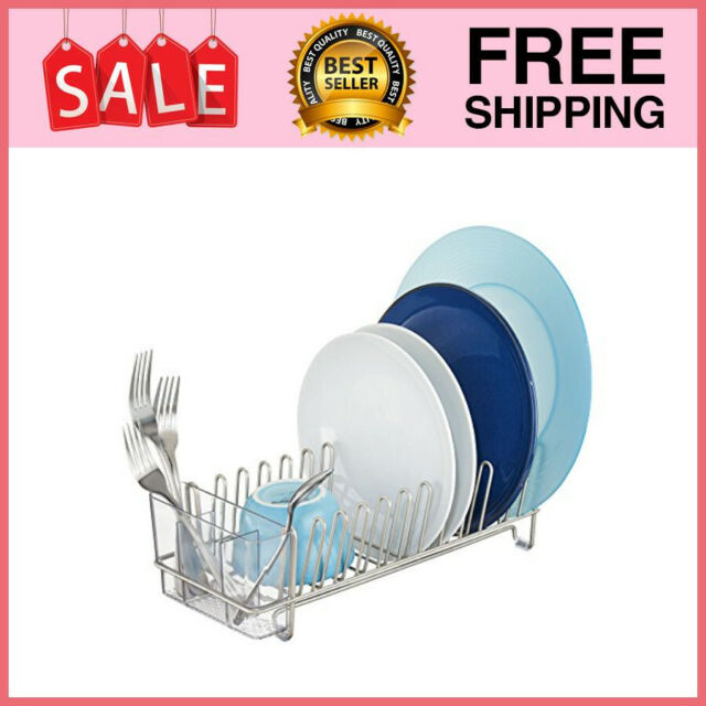 Compact Dish Drainer Drying Rack In Sink Small Over Spaces Inside Holder Kitchen