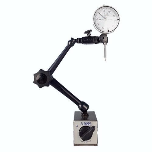 "All Industrial 52000 0-1/"" Dial Indicator /& Noga DG61003 Magnetic Base"