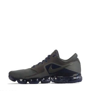 release date fa9bb db3c4 Image is loading Nike-Air-Vapormax-Mens-Trainers-in-Midnight-Fog