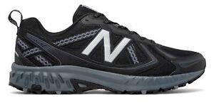 NEW-Balance-410v5-Uomo-Trail-Scarpe-Nero-Grigio-Con