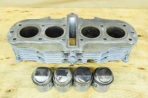 Details about SUZUKI ENGINE CYLINDER JUG BARREL & PISTONS GS550L GS550M  GS550T GS550E 1978