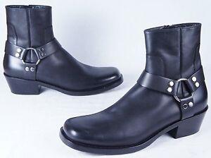 35ab3ebd4c75 Image is loading BALENCIAGA-Rider-harness-boots-Mens-46EU-13US