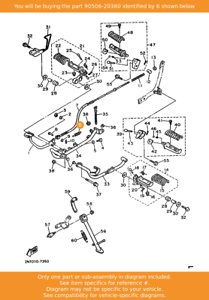 Tension 90506-20380 OEM XV535 YFZ450 XV500 XV400 YFZ350 YFM660 YAMAHA Spring
