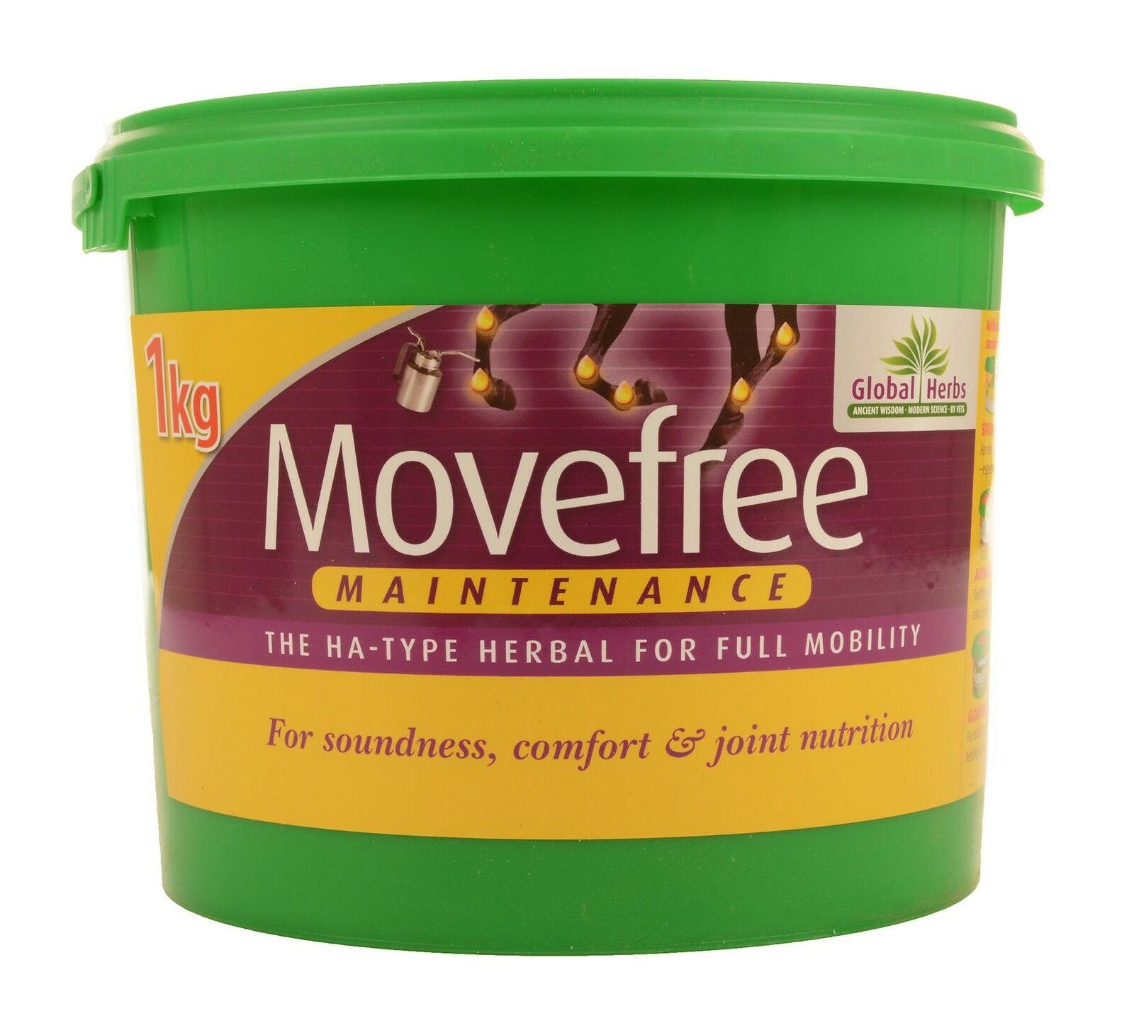 GLOBAL HERBS MOVEFREE MAINTENANCE EQUINE HORSE JOINTS & SOUNDNESS