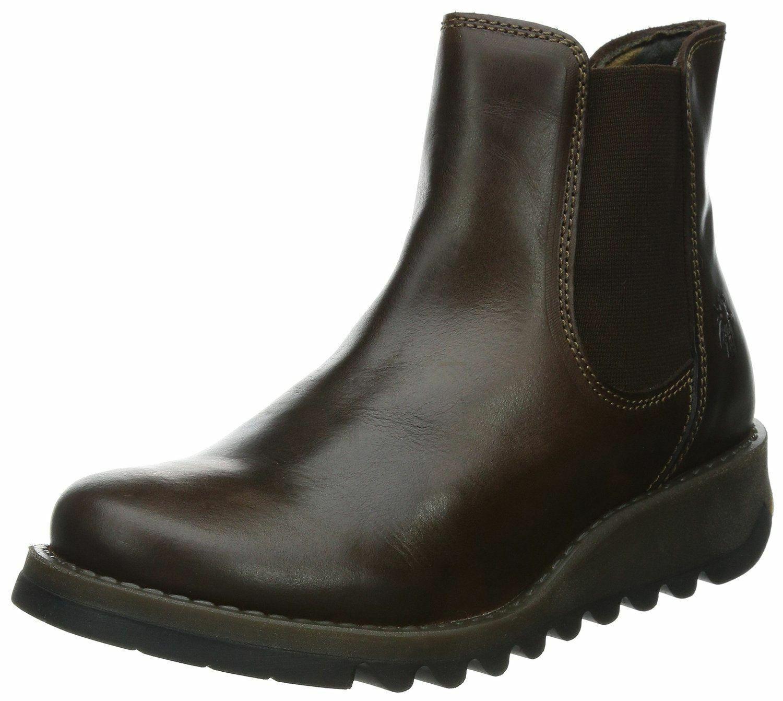 London Woherren Fly UK 4 (schwarz) schwarz Stiefel