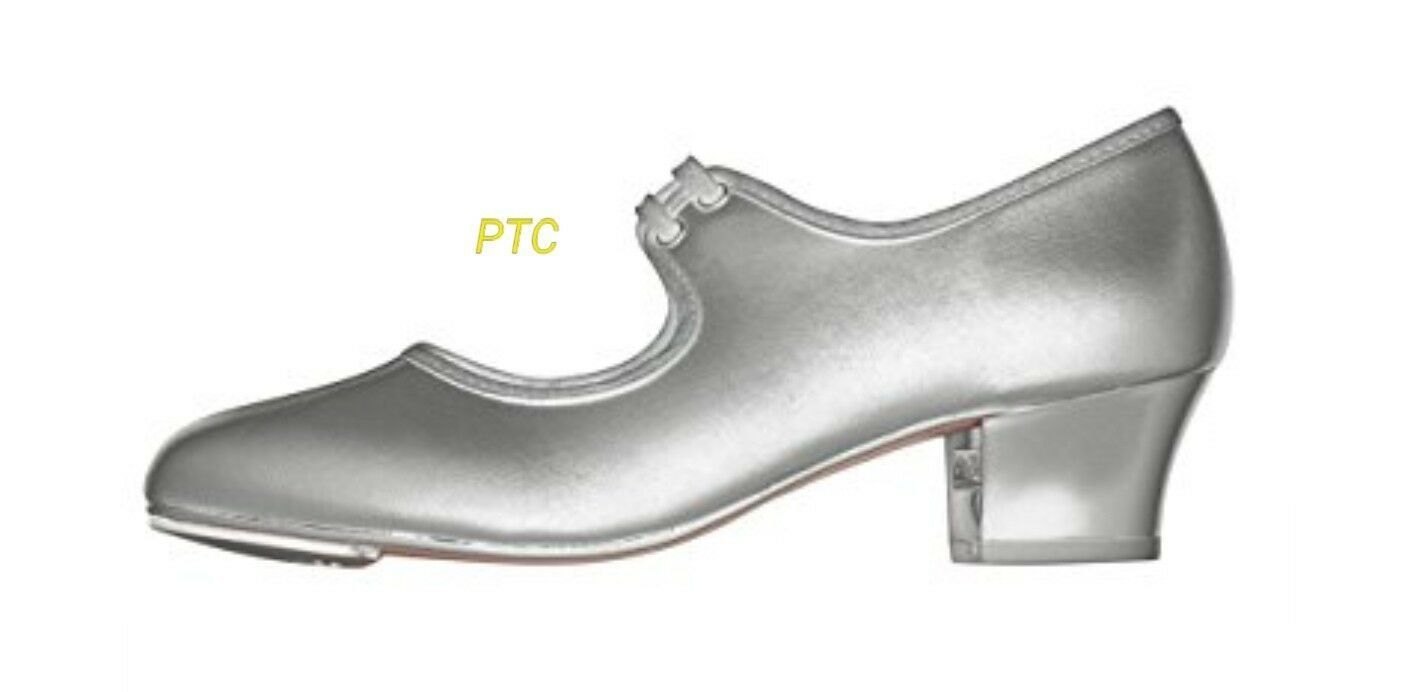 Roch Valley PTC silver tap shoe size UK adults 7