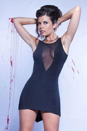 Soirée Catanzaro De Super Sexy Alvina Référence Transparent Robe Patrice Dos Ok8wP0n