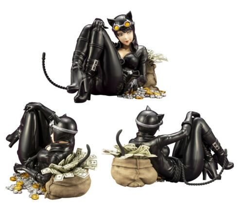 Original Kotobukiya * DC Gatúbela devoluciones Bishoujo Estatua Figura De Acción Nueva En Caja