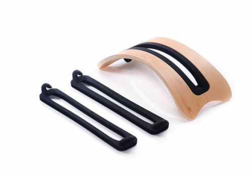 Arc Shaped Birch Vertical Stand Laptop Wood Stand Holder for MacBook pro air