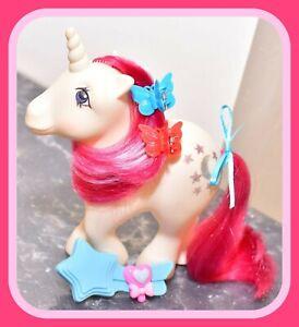 My-Little-Pony-MLP-G1-Vtg-1983-Unicorn-Ponies-Moondancer-amp-Original-Brush