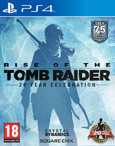 Rise Of The Tomb Raider - 20 Year Celebration PS4 Playstation 4 SQUARE ENIX