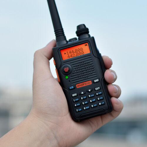 Baofeng UV-5R EX 5W Dual Band VHF//UHF Two Way Radio CTCSS//DCS FM TOT Transceiver