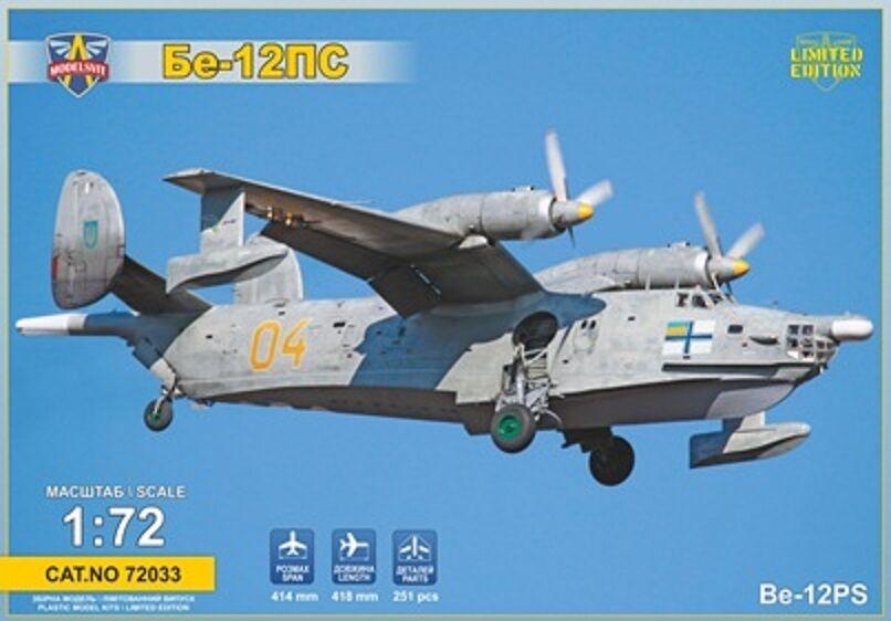 1 72 Beriev Be-12PS reconnaissance aircraft - NEW- Modelsvit