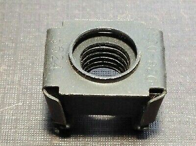 1 pc NORS 3//8-24 black phosphate low carbon steel cage nut fits Ford
