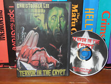 Terror in the Crypt - Christopher Lee - Vampires, classic horror!