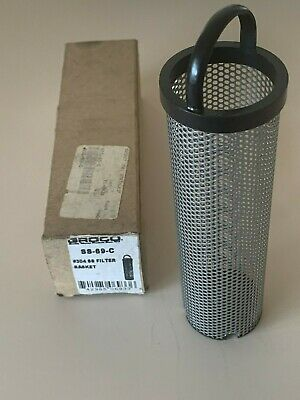 Groco SS69C #304 Stainless Steel Filter Basket