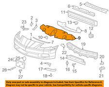 Chevrolet GM OEM 05-13 Corvette Rear Bumper-Impact Bar Nut 11609836