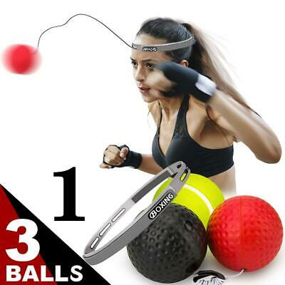 Boxing Reflex Ball Training Fight Balls Punching Speedball Fighting Speed