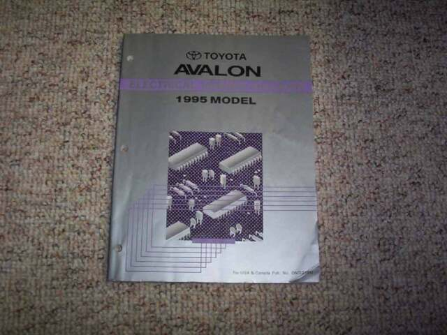 1995 Toyota Avalon Electrical Wiring Diagram Manual Xl Xls