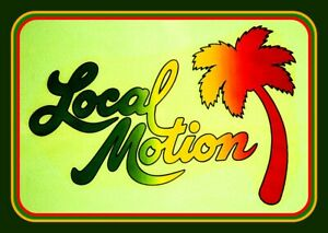 """bong 4.25/"""" Local Motion surfing vinyl sticker laptop Classic surf decal 4 car"""
