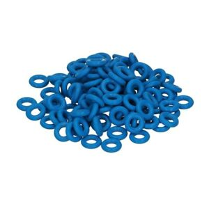 D147 Jura O-Ring Dichtung 3,4x1,9 Viton Blau Verbindung Druckschlauch Heizung