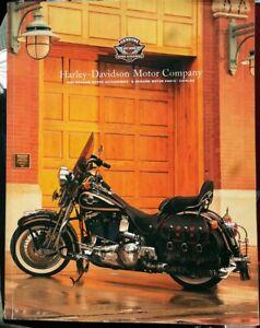 1998 Harley Davidson Motorcycle Parts Accessories Brochure Catalog Ebay