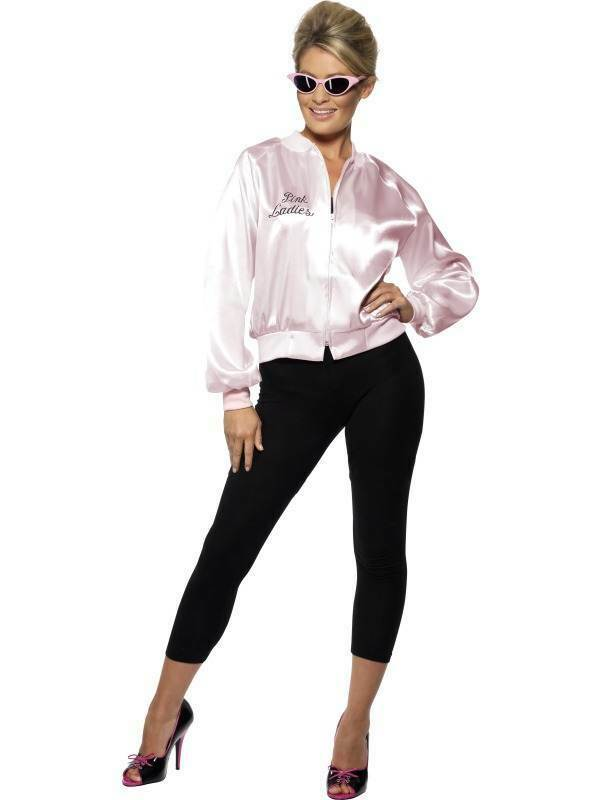 PINK LADY JACKET, FOR GREASE, GREASE, POP STAR, LARGE 16-18, WOMENS