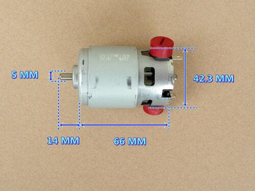 DC12-24V 150W 8800-13800RPM 775 Micro High Speed Power Motor 5mm Shaft New