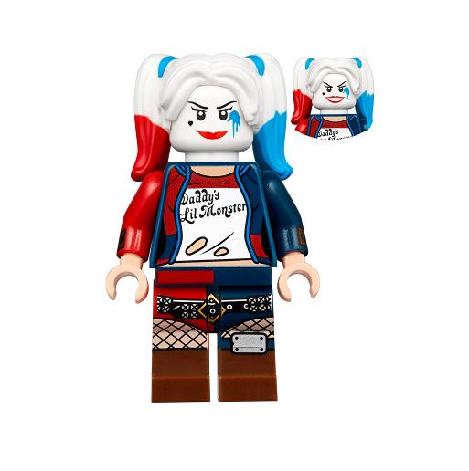 nouveau LEGO Harley Quinn - Apocalypseburg FROM SET  70840 THE LEGO MOVIE 2 (tlm134)  réductions et plus