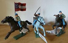 Britains Südstaatler zu Pferd, American Civil War Confederate mounted, 17827