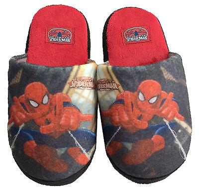 Niños Marvel Avengers Spiderman Mula Zapatillas Zapatos Tallas 9-2 Nuevo Regalo Antman