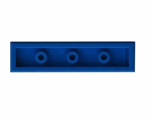 5 x Lego Blue flat tile Parts /& Pieces size 1x4 - 243123