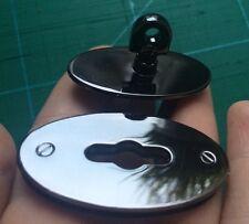 Medium Mulberry-type Handbag Closure, Turn Lock, Clasp In Gunmetal Colour