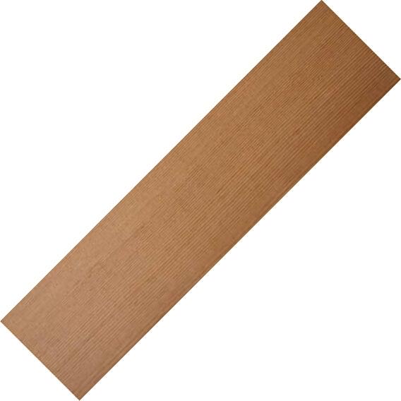 Bois Tendre Feuille -12 Pièces X 0.6cm Épais X Clé 7.6cm Largeur X 91.4cm Clé X - 7928ab