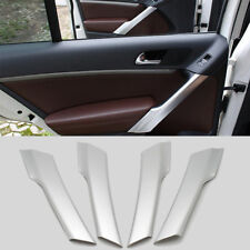 4pcs For Nissan Rogue X-Trail 2014-2016 NEWMatt interior door cover armrest trim