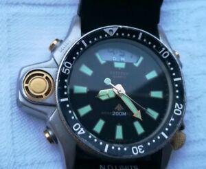 buy popular 26f16 64a27 Details about Citizen Aqualand 1 promaster C022 6 screws vintage diver  watch Japan Sub