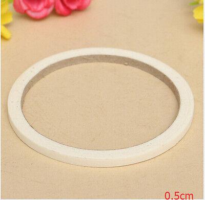 17m Beauty White Stripe Tape Roll Nail Art Edge Guide Tips DIY Sticker 0.5cm/1.2