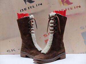 en Vintage 38 femmes Bottes True marron pour d'hiver daim bottes IXwxp6qv