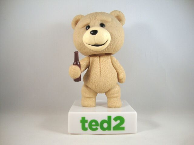 "Ted the Bear ""Ted 2"" Wackelkopf-Figur+Sound Wacky Wobbler Bobble Head Funko Bär"