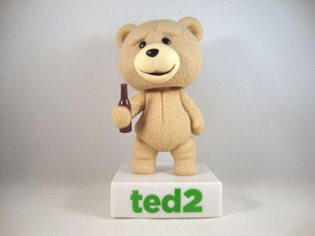 """Ted the Bear """"Ted 2"""" Wackelkopf-Figur+Sound Wacky Wobbler Bobble Head Funko Bär"""