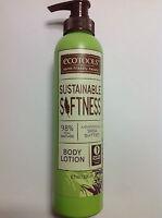 Ecotools Sustainable Softness Nourishing Shea Butter Body Lotion 8 Oz New.